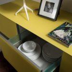 LIVING TETRIX IN VETRO, cassettone interno- presso il nostro showroom Scavolini Store Jesi
