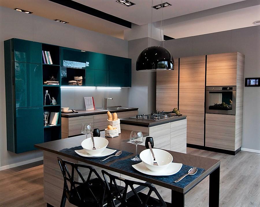 Cucina componibile Scavolini - modello Mood. SCONTO 45 ...