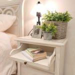 letto e comodini classici