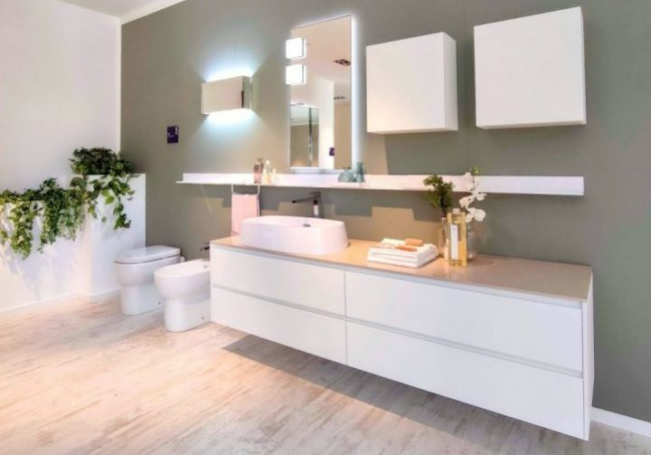 Mobile bagno bianco