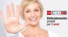 Elettrodomestici protetti 5 anni