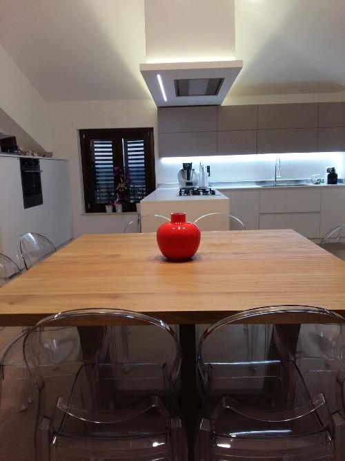 Cucina, modernità e calore